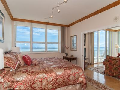 Master Bedroom suite with amazing ocean views