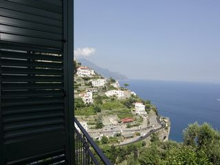 Amalfi villa photo - View from the top terrace