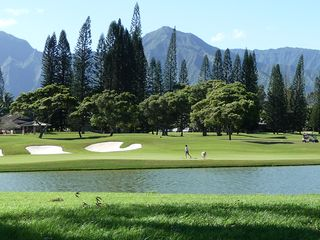 Princeville condo photo - Play or walk alongside the stunning Makai Course just a few blocks away.