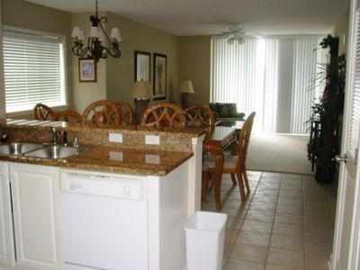 Large dining area for total family enjoyment.
