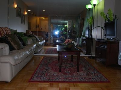 Midtown Manhattan condo rental - Living Room