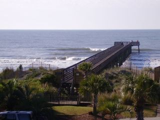 Oceanfront pool awesome views booking homeaway for Isle of palms fishing pier