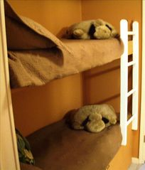 Hilton Head Island~Bunk beds fit kids and adults. A winner with all ages! - Folly Field condo vacation rental photo