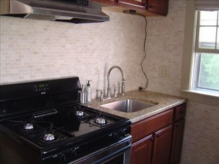 Provincetown cottage photo - Full Kitchen with Gas Range