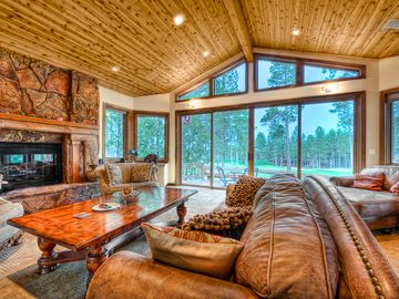 Flagstaff house rental - Outstanding Golf Course Views from every angle.