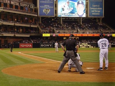 How about 4 seats behind home plate at a Padres game? (subject to availabilty)