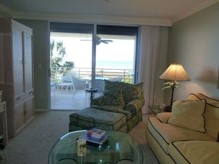 Somerset condo photo - View from family room to beach front lanai