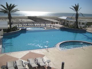 Galveston house photo - Beach Club pools and boardwalk to beach