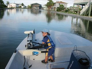 First mate aboard the USS Fish Maker - Rockport house vacation rental photo