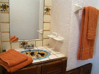 Playa del Carmen condo photo - Bathroom with talavera accents