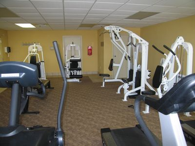 Excercise Room - Cardio and Resistence
