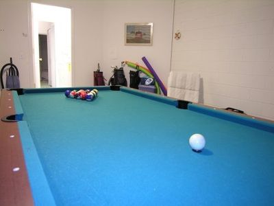 The games room - Pool, Fooseball, Electronic Darts