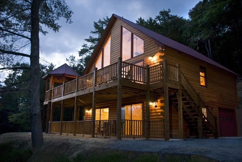 Lake nantahala vacation rental vrbo 126838 2 br smoky for Smoky mountain nc cabin rentals