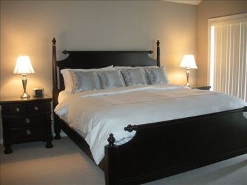 Beautiful large master bedroom