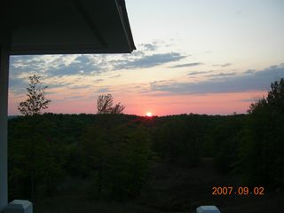Crystal Mountain, Thompsonville condo photo - Beautiful Sunsets
