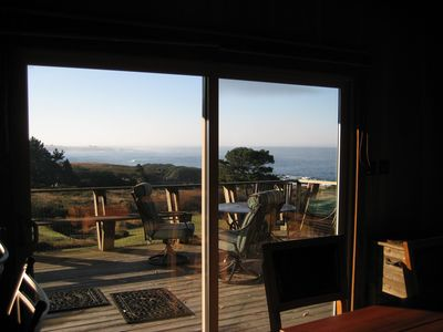 Mendocino house rental - This is what you get...