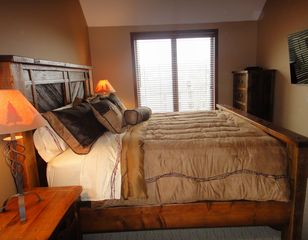 Mount Snow condo photo - Master Bedroom with King