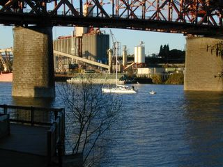 Portland condo photo - Enjoy the riverside activity from your comfortable perch