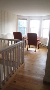 Mahone Bay house rental - Lunenburg bump sitting area -- great place to read or share conversation