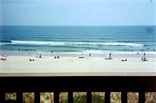 Carolina Beach condo rental - View from living room deck