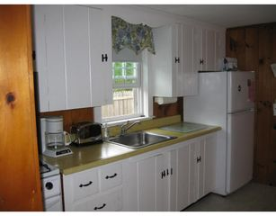 Dennisport cottage photo - Eat In Kitchen with gas stove.