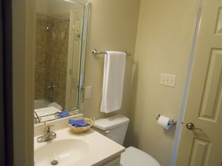Gulf Shores property rental photo - Upstairs shared bath with tub showered combo