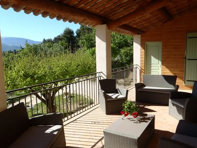 Gite in full nature facing Mt Ventoux in the heart of Baronnies with Swimming pool - L'églantier 1