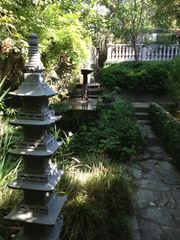 Pasadena studio photo - Garden walkway.