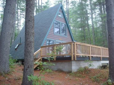 Raymond cottage rental - The A-Frame is secluded & Serene
