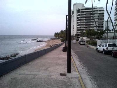 Condado apartment rental - Walkway to eastward beach - nice beach for family/children