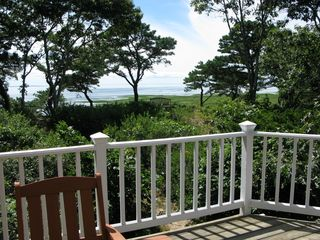 Wellfleet house photo - The wrap around deck is perfect for all day relaxation and beautiful scenery.