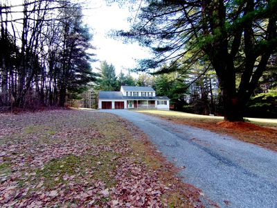 3.8 miles to Tanglewood and Kripalu—Lush Berkshires setting on 8.5 wooded acres.