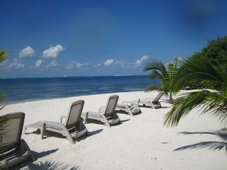 Isla Mujeres condo photo - Private beach with great view