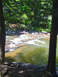 Woodstock house rental - Walk to Swimming Hole
