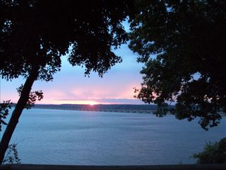 Langley house photo - Sunrise from your deck, overlooking Pensacola Dam