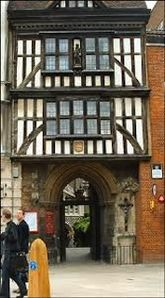 City of London apartment rental - Entrance to St Bartholomew's Church, 30 meters from the flat