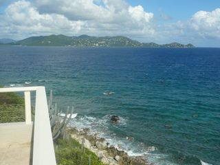 View to St.John from the Terrace - East End villa vacation rental photo
