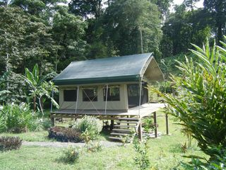Bocas del Toro cabin photo - outside of eco tent detached from main cabin