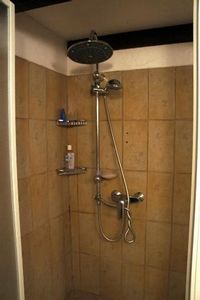 the 90cm2 shower with handheld & overhead nozzles