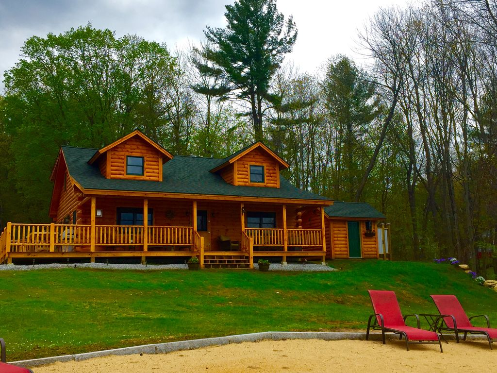 nh north for estate rent in maine fryeburg conway badger sale watch cabins area youtube log real home