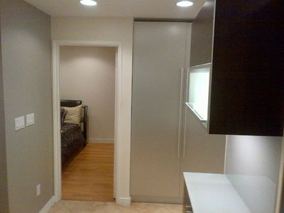Master Bedroom, Storage, Interior Washer and Dryer and Wet Bar
