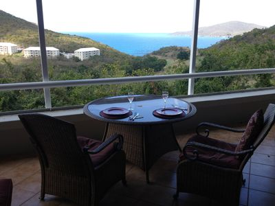 Wake up and enjoy breakfast with a breathtaking view.