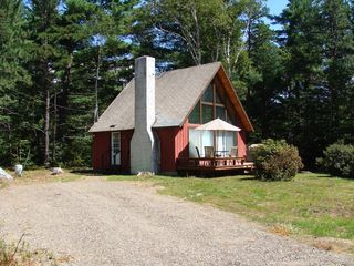 Front of chalet - North Conway chalet vacation rental photo