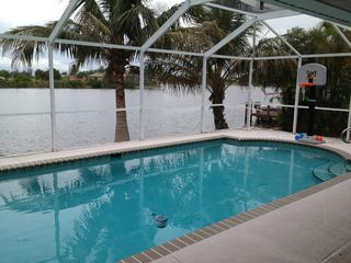 Cape Coral house photo - Just relax in the pool.