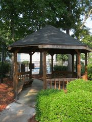 Myrtle Beach Resort condo photo - Gazebo located in pool area behind unit.