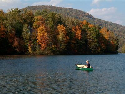 Fishing on the  main lake of Lake Lure, you will need a license.