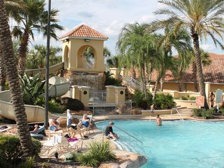 Regal Palms villa photo - Water Slide, Kiddie Pool, Walking Distance (literally) from Food Shopping Etc.