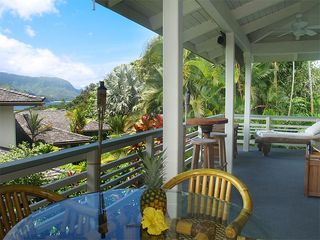 Princeville house photo - Upper Lanai