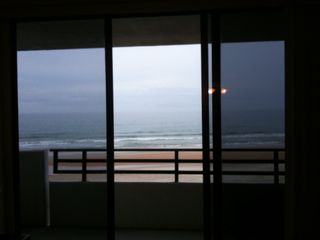 Daytona Beach condo photo - Check This View From The Living Room