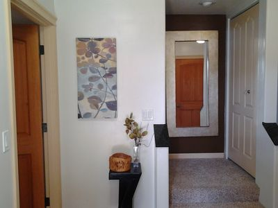 Bandon townhome rental - Main entrance - Come on in!